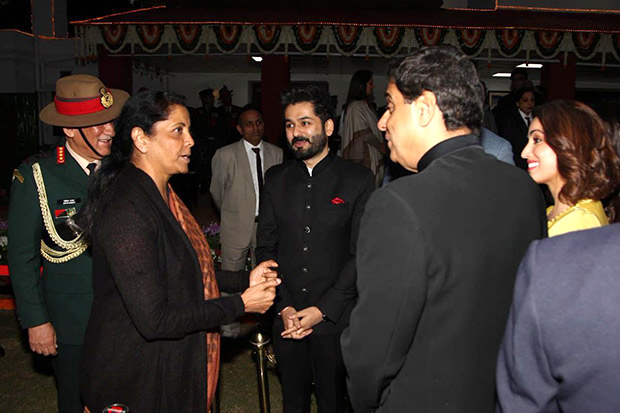 Defence Minister Nirmala Sitharaman meets the team of Uri: The Surgical Strike