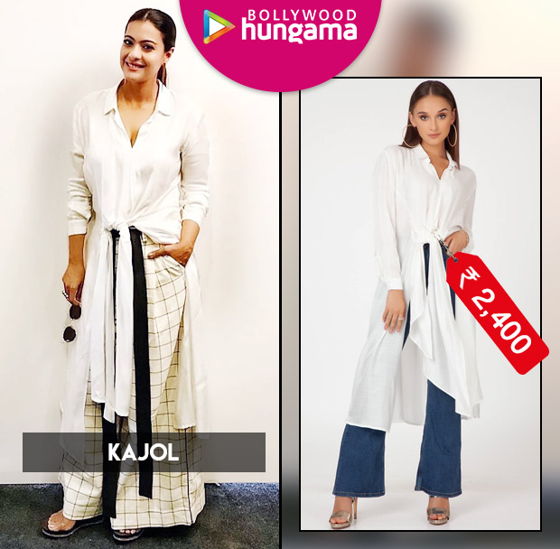 Kajol Devgan in Alaya by Stage 3 shirt and Chola pants for an event (1)