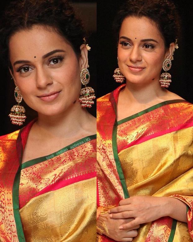 Kangana Ranaut in Madhurya Creations for Manikarnika promotions (4)