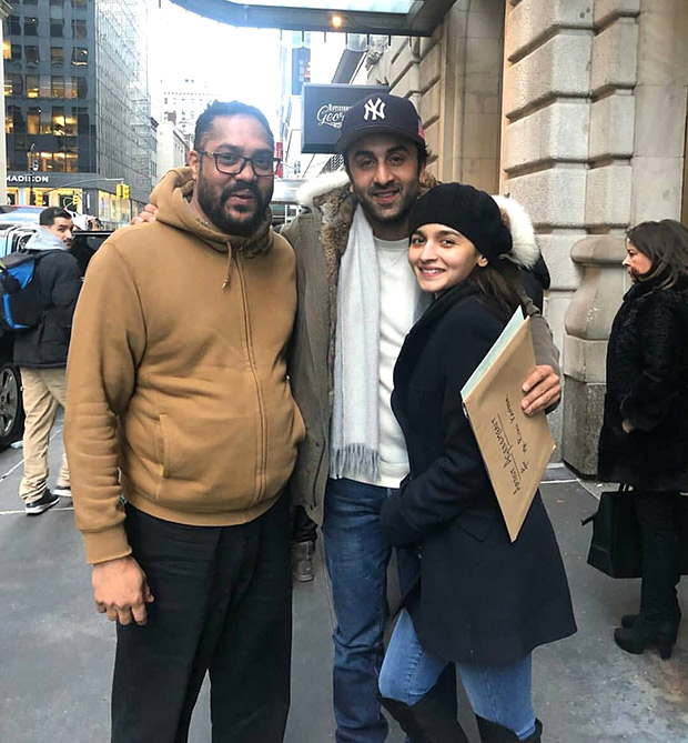 LOVERS Alia Bhatt and Ranbir Kapoor paint New York city red as they celebrate togetherness (see pictures)