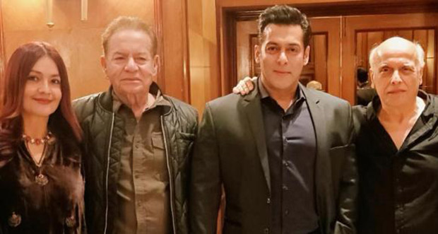 Pooja Bhatt poses with her old pal Salman Khan and shares an emotional message for her father Mahesh Bhatt on Instagram