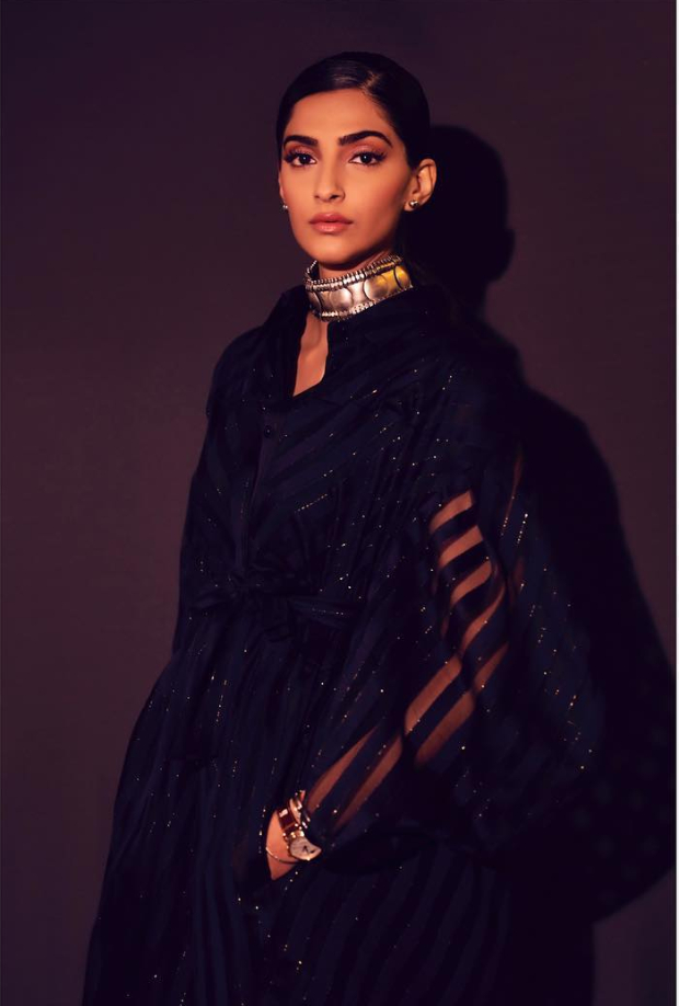 Sonam Kapoor Ahuja in Raph and Russo for IWC Schaffhausen opening dinner party in Geneva (5)