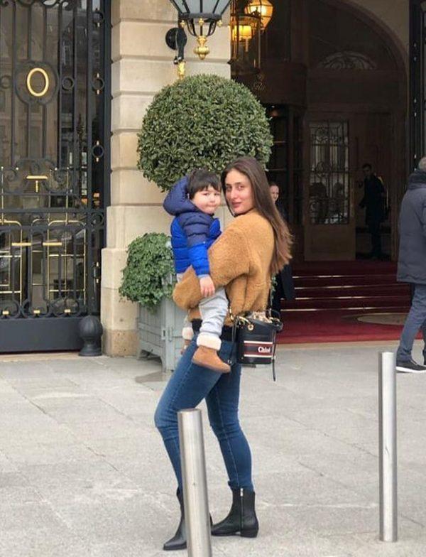 WOW! Stylish mother-son duo Kareena Kapoor Khan and Taimur Khan can't get enough of Paris
