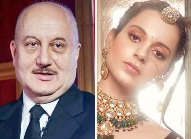 Anupam Kher backs Kangana Ranaut and calls her the real example of WOMEN EMPOWERMENT