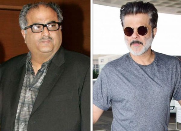 Boney Kapoor and Anil Kapoor attend the puja in Chennai to commemorate Sridevi's first death anniversary