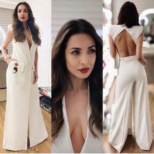 Malaika Arora in Nikhil Thampi blazer for Sophie Choudry's song launch (6)