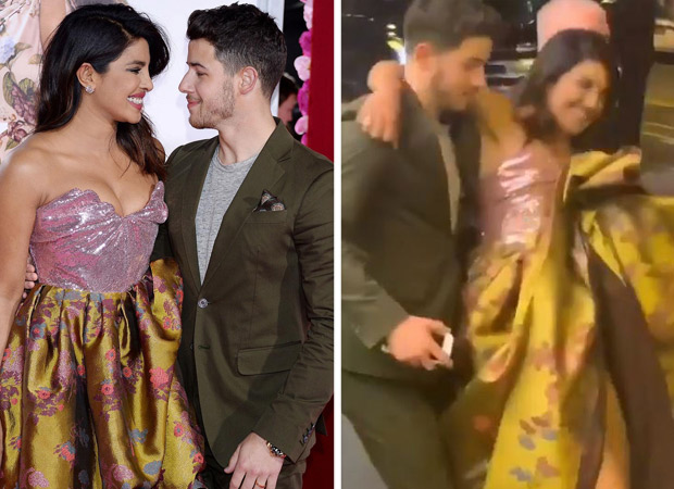 Nickyanka set Valentine's Day goal RIGHT! When Nick Jonas swept Priyanka Chopra off her feet at the premiere of Isn't It Romantic?