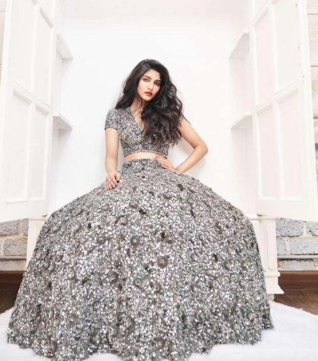 Salman Khan's niece Alizeh Agnihotri is a vision becomes the face of a bridal couture line