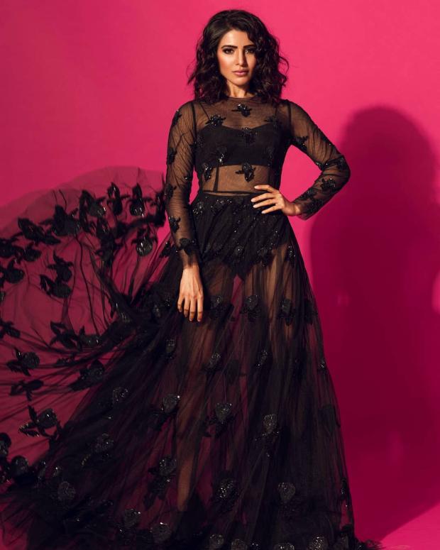 Samantha Akkineni in Sunaina Khera for a photoshoot (2)