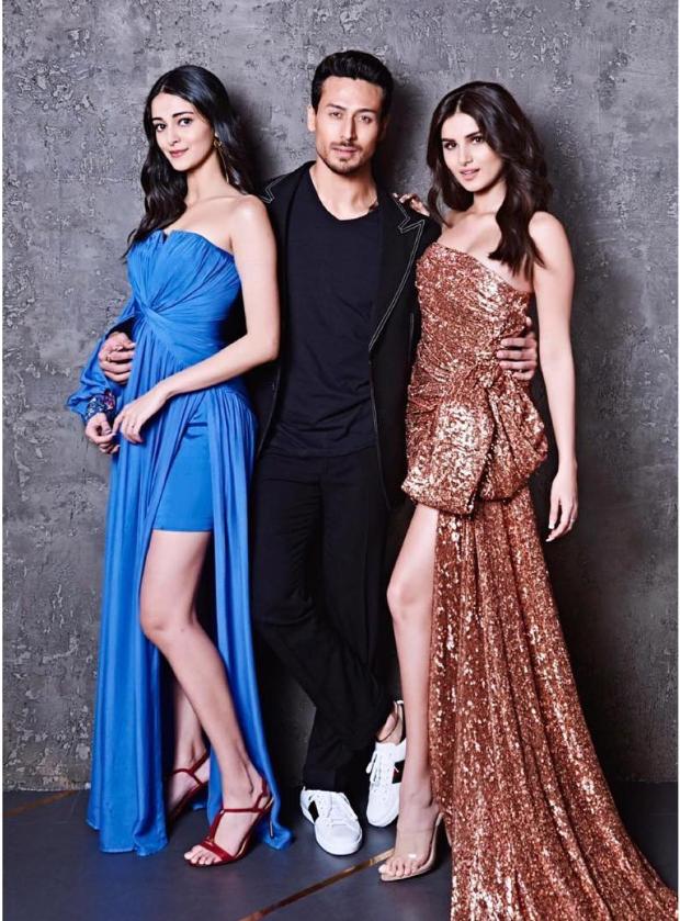 Tiger Shroff, Tara Sutaria and Ananya Panday on Koffee With Karan (1)