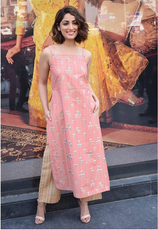 Yami Gautam in Global Desi separates for a store opening in Ahmedabad (2)