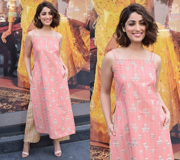 Yami Gautam in Global Desi separates for a store opening in Ahmedabad (3)
