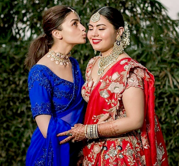 From dancing on the song 'Zhingaat' to a wonderful speech, Alia Bhatt has been the perfect bridesmaid on duty!