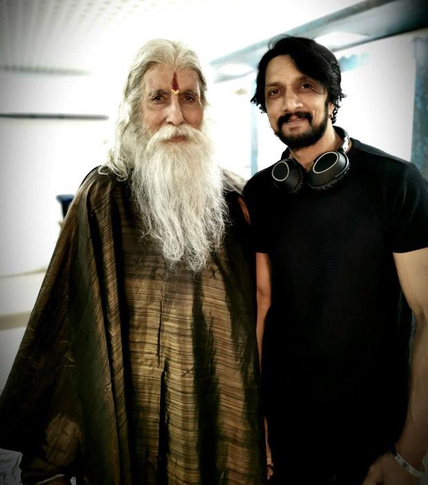 Sye Raa Narasimha Reddy - Kiccha Sudeepa is excited to share screen space with Amitabh Bachchan again (see pic)