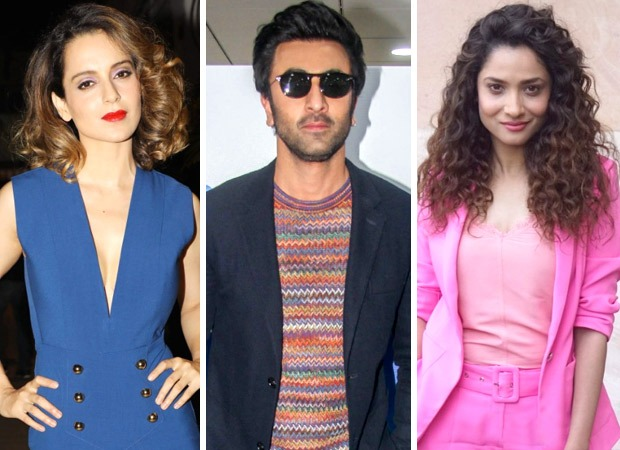 Manikarnika - Kangana Ranaut SLAMS Ranbir Kapoor and others in this video but it is the expression of Ankita Lokhande smiling awkwardly that is going viral!