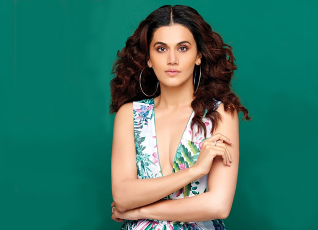 Badla star Taapsee Pannu looks ethereal on the cover of Just Urbane