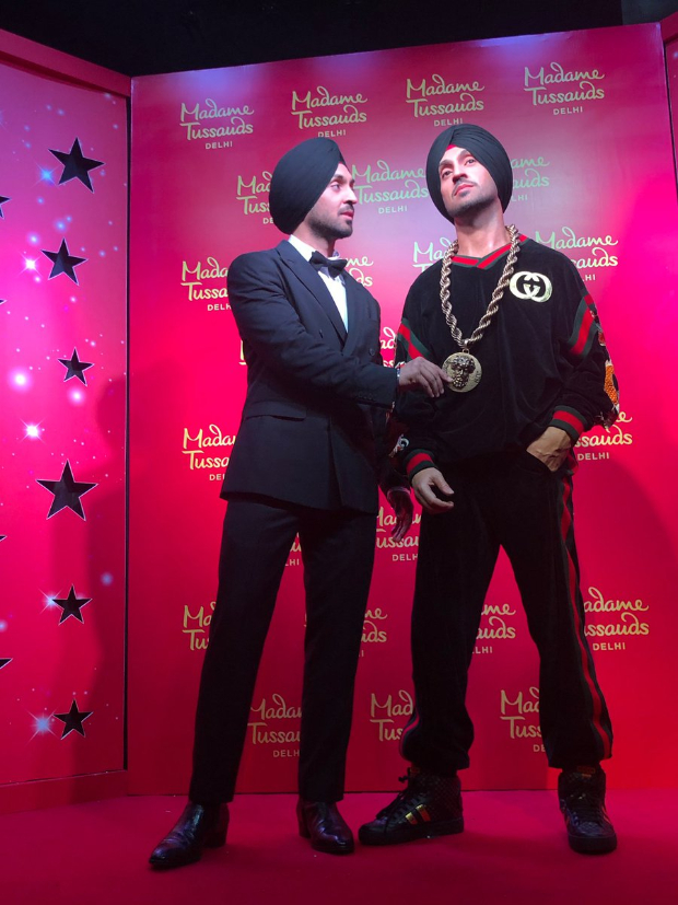 Diljit Dosanjh unveils his wax figure at Madame Tussauds in Delhi