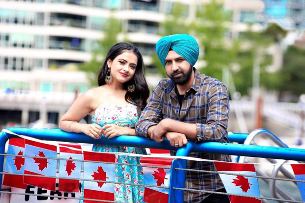 Manje Bistre 2: Paired for the first time, Simi Chahal and Gippy Grewal sizzle with the electrifying track 'Current'
