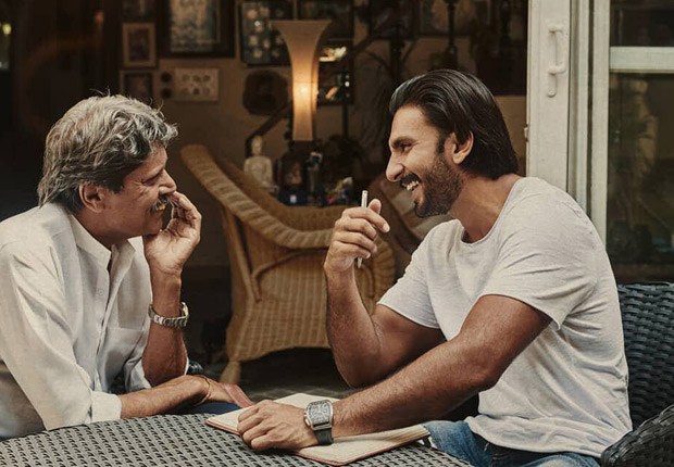 '83: This photo of Ranveer Singh and Kapil Dev together is making us curious about the Kabir Khan film!
