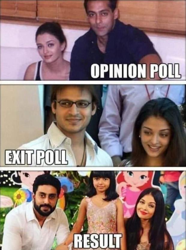 Vivek Oberoi slams Sonam Kapoor Ahuja after she calls the controversial Aishwarya Rai Bachchan meme 'disgusting'!
