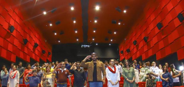 India's Most Wanted: Arjun Kapoor and Raj Kumar Gupta host special screening for unsung heroes in Delhi
