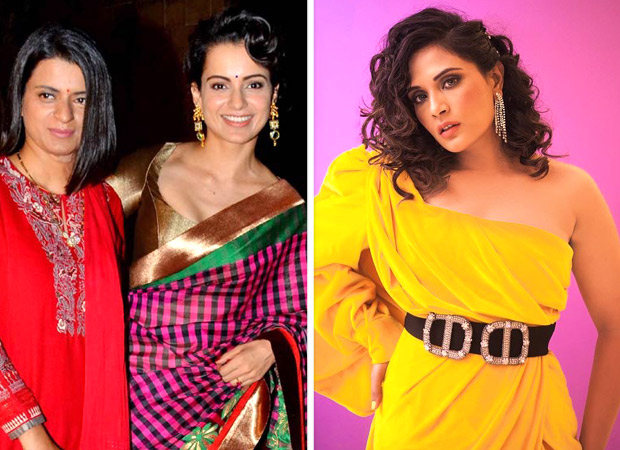 Rangoli Chandel LASHES OUT at Richa Chadha and calls her jobless over her comments she made on Kangana Ranaut during a show!