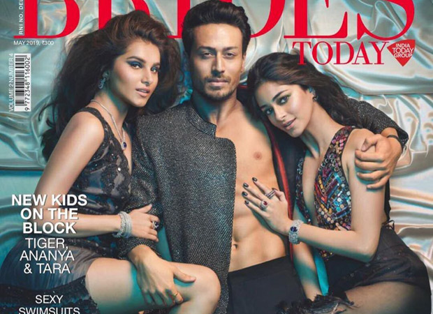 Student Of The Year 2 Tiger, Ananya, and Tara soar the temperature on the cover of Brides Today