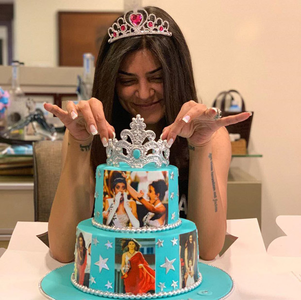 Sushmita Sen celebrates 25 years of being Miss Universe in the most adorable way! [See photos and video]