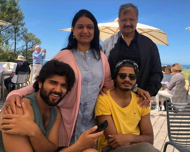 Arjun Reddy star Vijay Deverakonda is leaving us green with envy with these photos from France!