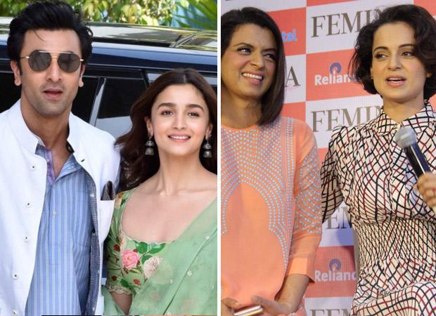 Alia Bhatt, Ranbir Kapoor say NO COMMENTS on Kangana Ranaut & her sister Rangoli