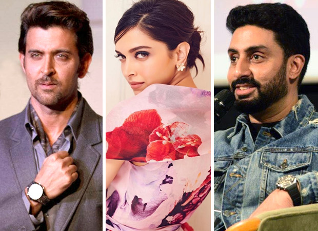 Hrithik Roshan and Abhishek Bachchan comment on this quirky post of Deepika Padukone and here's what they have to say!