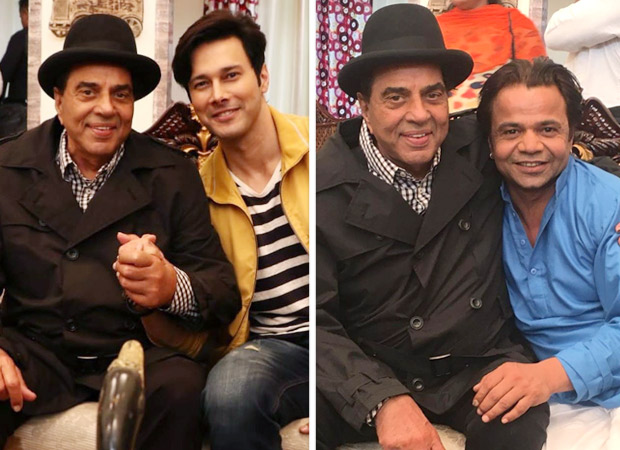 BTS: Dharmendra starts shooting for horror comedy Khalli Balli, co-actors share photos from the sets of the film