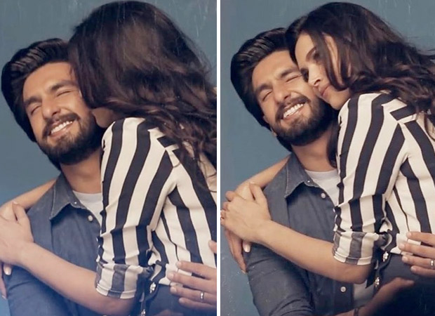 PHOTOS: Deepika Padukone leaves Ranveer Singh gushing after a romantic kiss