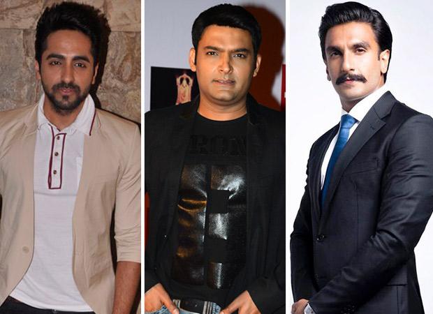 The Kapil Sharma Show Article 15 actor Ayushmann Khurrana RVEALS he has a Man Crush on Ranveer Singh