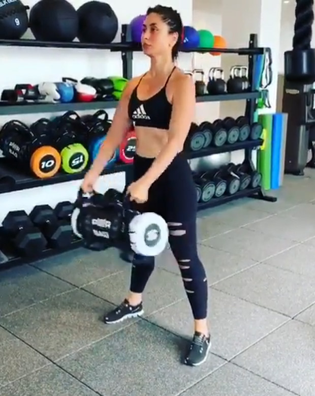 WATCH VIDEO: Kareena Kapoor Khan is giving us major weekend motivation with her workout routines
