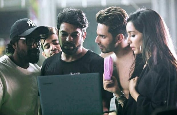 Street Dancer 3D: When Varun Dhawan, Shraddha Kapoor, Remo D'Souza were snapped during an intense discussion on the sets of the film