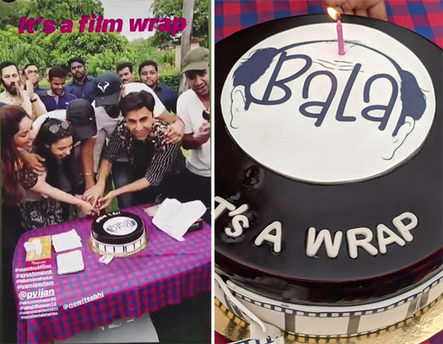 It's a wrap for Bala! Ayushmann Khurrana and team dance their heart out in these videos of the wrap-up bash