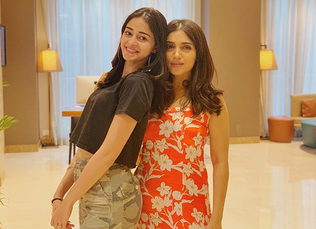 Ananya Panday's birthday wish for Bhumi Pednekar is the best life lesson of all times!