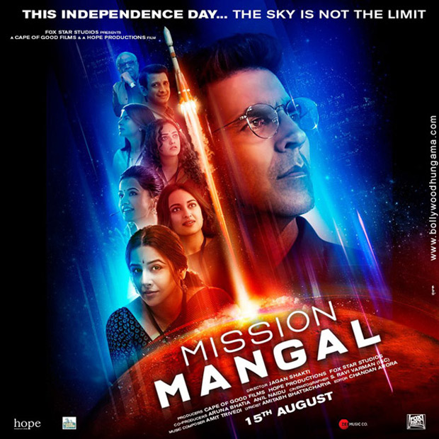 BREAKING Mission Mangal's trailer to be unveiled at a GRAND EVENT in Mumbai on July 18; trailer to be attached with The Lion King