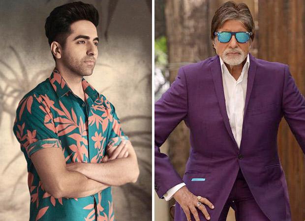 """Working with Mr Amitabh Bachchan is a dream come true"", says Ayushmann Khurrana"