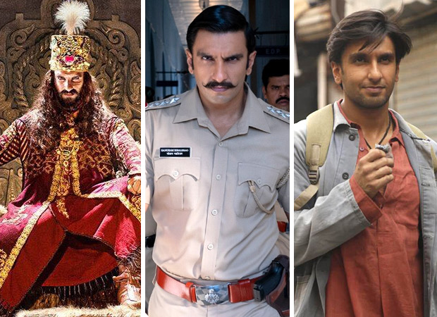 Happy Birthday Ranveer Singh: By earning Rs. 682.71 crore with 3 films in just 14 months, the actor goes past his contemporaries by LEAPS & BOUNDS!