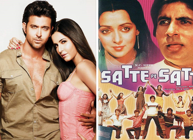 """Not too long ago, it was being said that Satte Pe Satta will now have a remake and it will feature Hrithik Roshan. The latter, who is riding high on the success of Super 30, will be essaying the double role played by Amitabh Bachchan in the original. Now the recent update on that front is that Katrina Kaif has been roped in to essay the character of Hema Malini from the film. There have been many changes that Satte Pe Satta remake has witnessed in the past few months, from change in male leads to change in female leads. There were also rumours in between that Deepika Padukone too was approached for the role. A source close to the film confirmed the development and said, """"Yes, the makers were considering many top A-list actresses for the role. Considering that it was Hrithik Roshan and also owing to the fact that they needed to fill in the shoes of Hema Maliniji, the makers had a tough choice to make. But eventually they thought Katrina would fit the bill. In fact, Katrina is quite honoured at the opportunity and she is also excited to play this interesting role."""" Prod the source about further details on casting and the source maintained, """"Satte Pe Satta indeed had an ensemble cast and it will take a while for the makers to put in the cast together. As of now, talks are just on and as soon as all of it is finalized, the announcement regarding the same will be made."""" Readers would be aware that the cult Satte Pe Satta is a drama revolving around seven brothers with Amitabh Bachchan playing the eldest sibling; whereas, Hema Malini plays the role of his ladylove and wife. The remake will be produced by Rohit Shetty and directed by Farah Khan."""