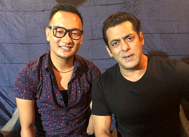 Salman Khan singing along with Thupten Tsering is the purest video you will see today!