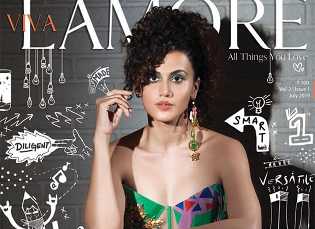 Taapsee Pannu is at her vibrant best on the cover of Viva L'Amore magazine