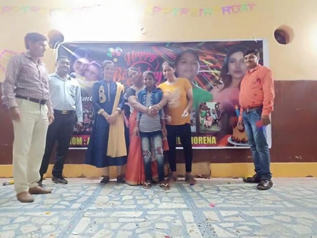 Girl's school in Chambal valley supported Bhumi Pednekar celebrates her birthday