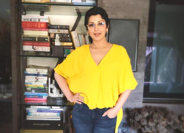 Sonali Bendre shares an emotional post about completing one year after she was diagnosed with cancer!