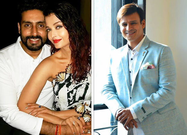 Abhishek Bachchan and Vivek Oberoi hug it out, months after Vivek shared a distasteful meme about Aishwarya Rai Bachchan