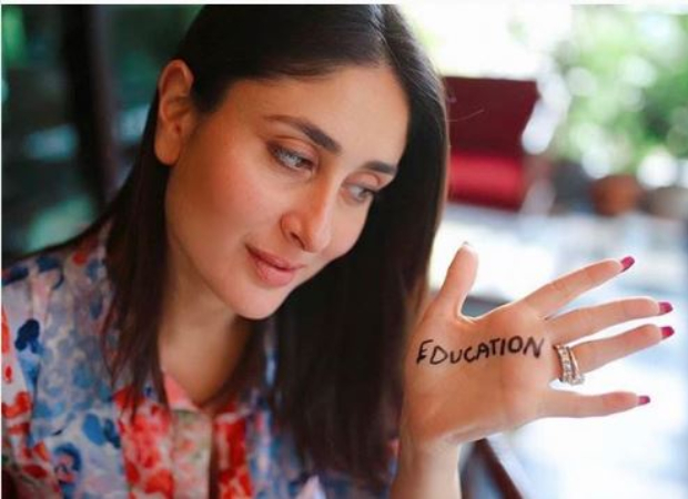 This is how Kareena Kapoor Khan is promoting child education