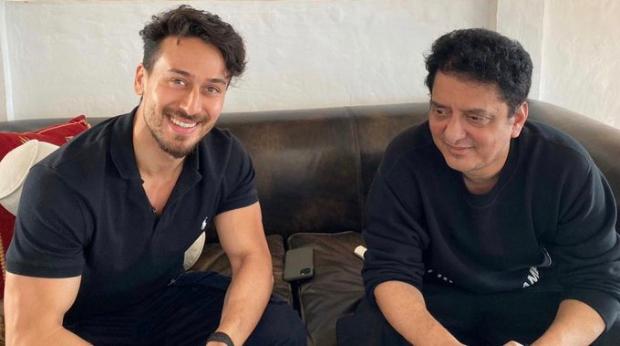 Baaghi 3: Tiger Shroff and Vijay Varma strike a pose as they head to Serbia
