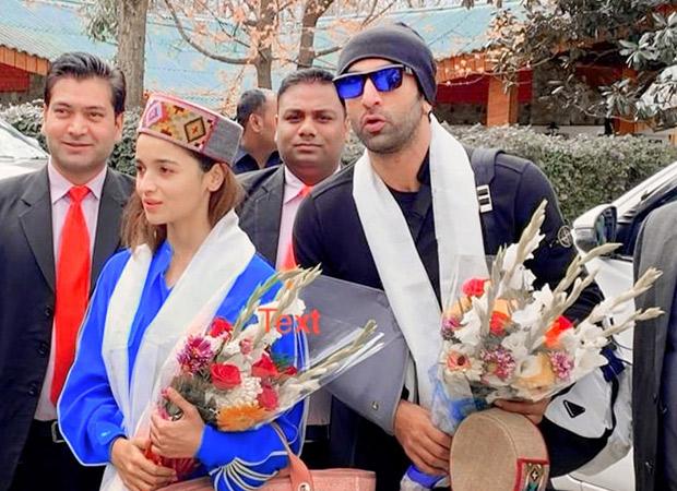 Brahmastra: Locals greet Ranbir Kapoor and Alia Bhatt with a warm welcome in Manali